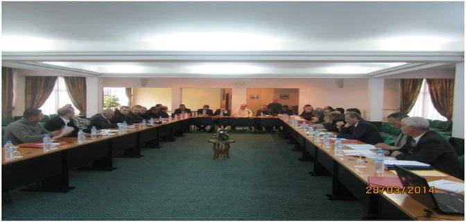 إعلان  عن عقد أشغال الجمعية العامة لغرفة الصيد البحري المتوسطية.