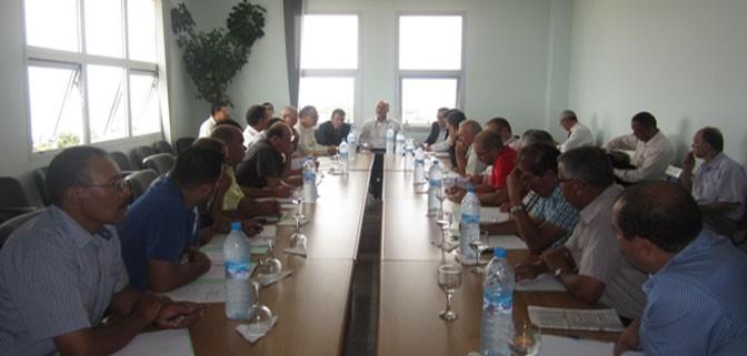 إعلان غرفة الصيد البحري المتوسطية عن عقد دورتها الأولى برسم سنة 2015.