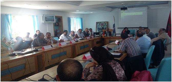 تقرير حول الاجتماع الذي عقد بالمضيق بتاريخ 3 يونيو 2015.