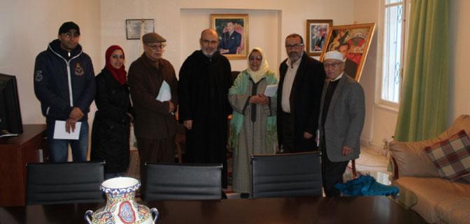 اجتماع تحضيري لتنظيم مهرجان طنجة للمأكولات التقليدية الشعبية بمقر غرفة الصيد البحري المتوسطية.