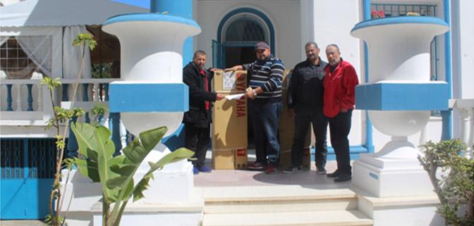 غرفة الصيد البحري المتوسطية تساير تدعيم التعاونيات وذلك بمنحهم محركات لقوارب الصيد التقليدي.
