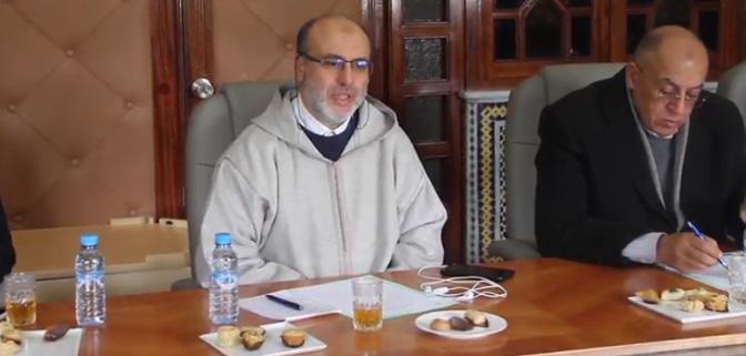 يوسف بنجلون يتحدث عن جامعة الغرف ونداء العيون وخلق لجنة للتواصل مع وكالة الموانئ.