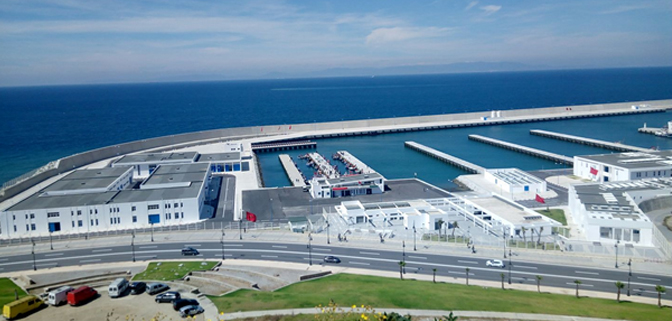 الموافقة الفعلية للوكالة الوطنية للموانئ للقيام بدراسة ميدانية في أقرب الآجال حول المدخل البحري لميناء الصيد بطنجة.