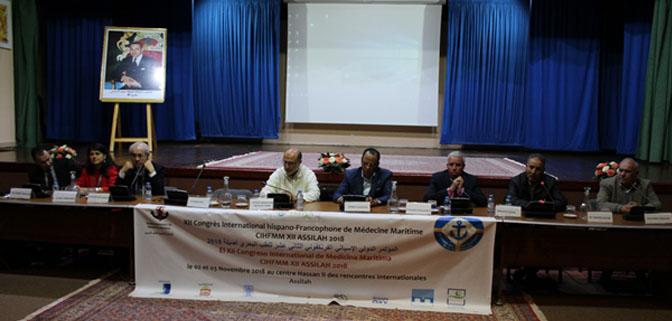 الرعاية الاجتماعية والصحية لرجال البحر شعار المؤتمر الدولي للطب البحري بأصيلة.