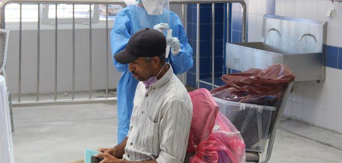 إخضاع المهنيين بقطاع الصيد البحري بميناء طنجة للتحاليل المخبرية والعدد يتجاوز 2400 تحليلة