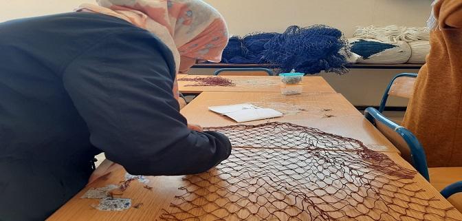 ملحقة غرفة الصيد البحري المتوسطية تعقد اجتماعا مع مؤسسة جمعية النساء من أجل افريقيا بالناظور