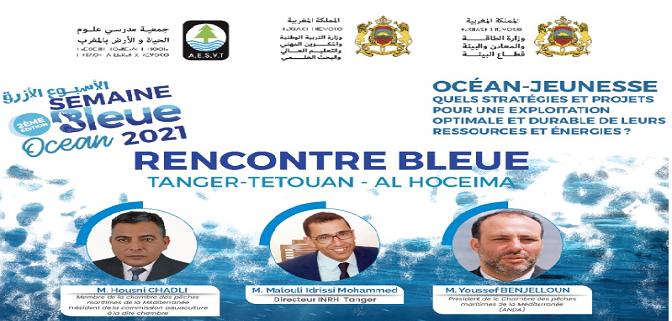 مشاركة غرفة الصيد البحري المتوسطية في الندوة الجهوية بمناسبة الأسبوع الأزرق
